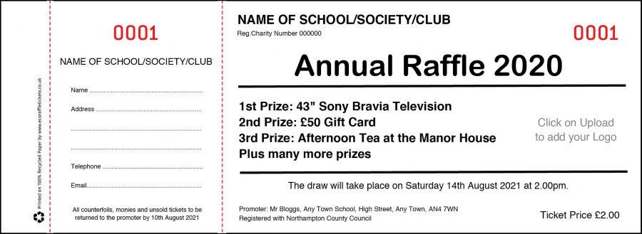 Annual Draw Raffle Tickets