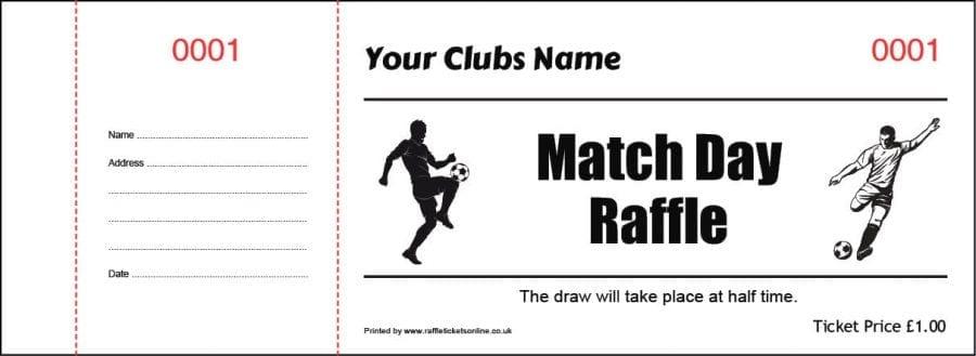 Raffle Tickets Online Template