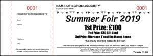 Summer Raffle Tickets