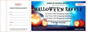 Halloween Raffle Tickets